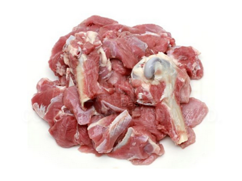 Mutton Cube (Mixed Bone)<br><span class='malay'>Kambing Potong  (Campur Tulang) </span>